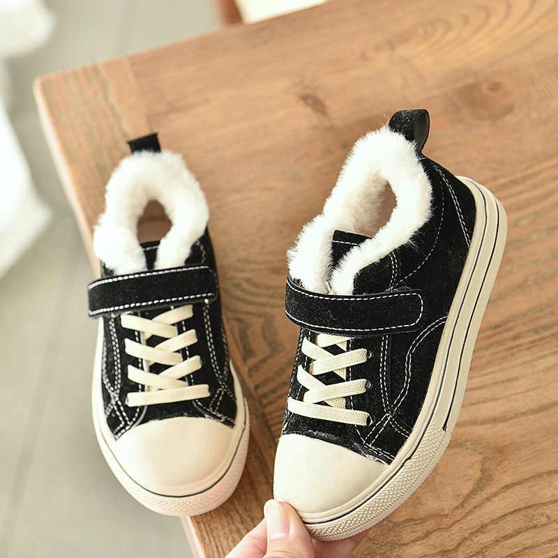 2019 yeni çocuk kız botları deri prenses Martin çizmeler moda zarif rahat çocuk ayakkabısı erkek bebek kış sıcak bot ayakkabı