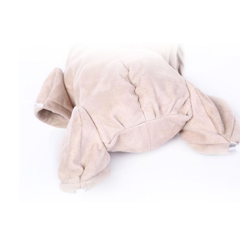 Reborn Doe Suede BODY For Doll Kit 3/4 Arms And Legs Cloth Body