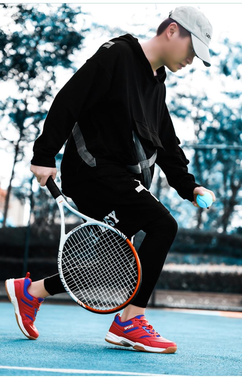 Profissional tênis de badminton voleibol para homens