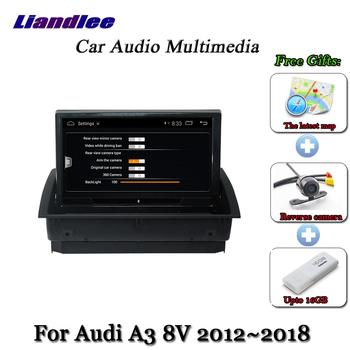 Car Android Multimedia System For Audi A3 8V 2012-2018 Radio GPS Navigation Player Carplay Androidauto HD Screen image
