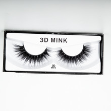 September NEW 100% Real Mink Eye Lashes 3D Natural Thick False Eyelashes Lash Soft Extension Makeup Tools