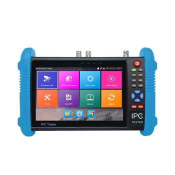 цена на H.265/H.264 7 inch IPS touch screen CVBS test IPC-9800 Plus ip camera tester