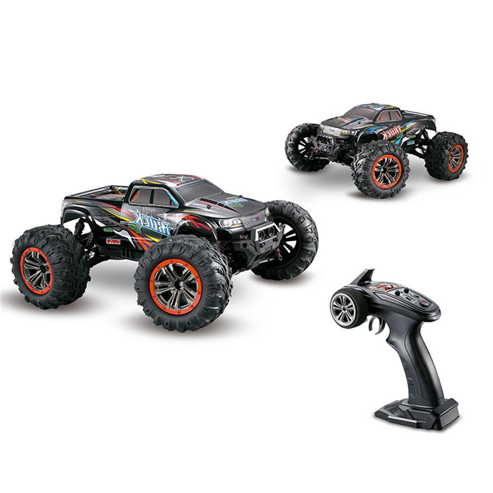 XLH RC <font><b>Cars</b></font> 9125 2.4G 1:10 Full Proportion <font><b>Racing</b></font> <font><b>Car</b></font> Supersonic Truck Off-Road Vehicle Buggy <font><b>Electronic</b></font> Toys For Kids Gifts image