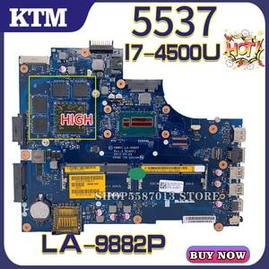 Für NEUE DELL Inspiron 15R DELL 5537 DELL 3537 LA-9982P laptop motherboard mainboard 100% test arbeit OK I7-4500U CPU AMD PM
