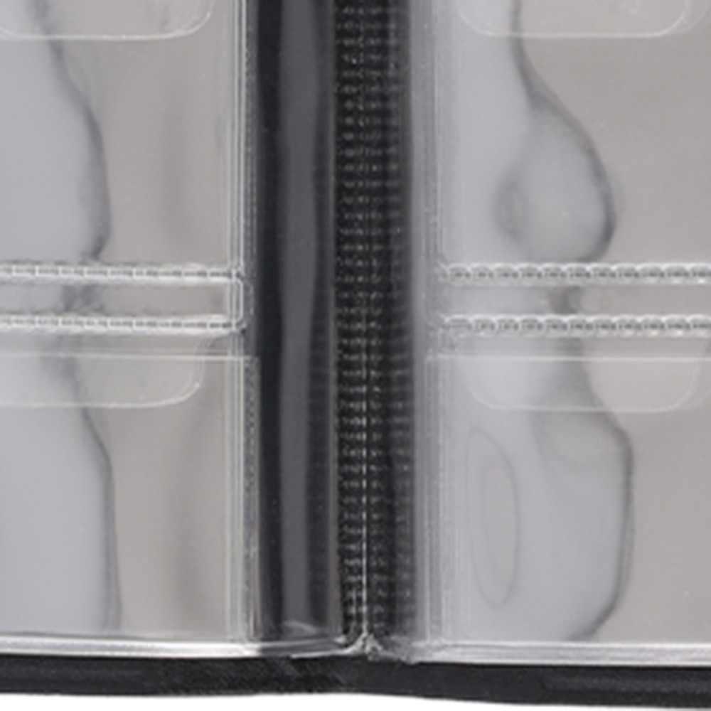 Đồng Tiền Kỷ Niệm Tập Tập Lưng Lưu Trữ Sách Trống Đồng Thư Mục Chứa 120 Miếng Đồng Tiền Thả Vận Chuyển Trang Trí Nhà Cửa