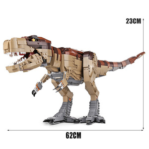 Image 3 - Creator Jurassic era Park Rampage Tyrannosaurus Rex Set compatible with 75936 Building Blocks Bricks Toy Christmas Gift