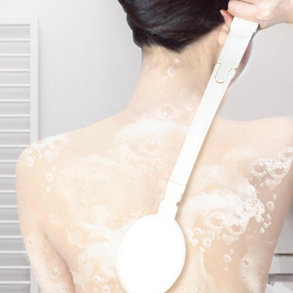 2020 новинка ванна щетка длинная ручка скрабер кожа массаж щетка ступни растирание ванна щетка высокое качество пластик скраб
