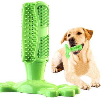 Dog Toys Pet Molar Tooth Cleaner Teeth Brushing Stick Trainging Dog Chew Toy Dogs Cats Toothbrush For Puppy Large Dog Biting Toy pet dogs rubber rod feed toy dog chew toy for dog tooth clean rod of extra tough rubber puppy toy biting resistance pet supplies