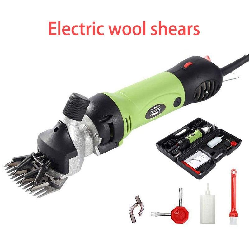 220В маленькие электрические шерстяные ножницы для домашних животных ножницы для пастбищ инструмент - 1