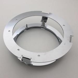 "Image 4 - 5 3/4 Inch Round Headlight Ring Mounting Bracket Ring for Motorcycle 5.75"" Headlight Headlamp Black/Chrome"