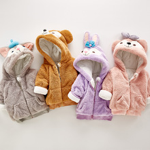 Детская одежда в Корейском стиле, стиль, одежда для ползания в западном стиле, плотное пальто для мужчин и женщин, весна-осень, тренд онлайн