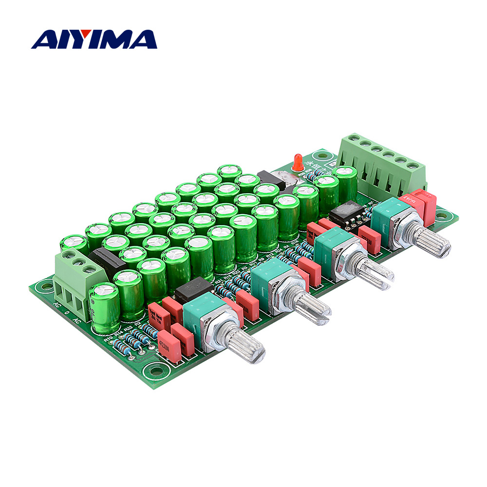 AIYIMA 2.0 Class A Preamplifier Hifi <font><b>Pre</b></font> <font><b>Amplifier</b></font> <font><b>Audio</b></font> Board With Tone Control Preamp DIY Sound Speaker <font><b>Amplifier</b></font> Home Theater image