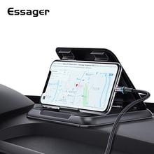Essager Dashboard araç telefonu tutucu iPhone Xiaomi mi için ayarlanabilir montaj tutucu telefon araba cep cep telefonu tutucu standı