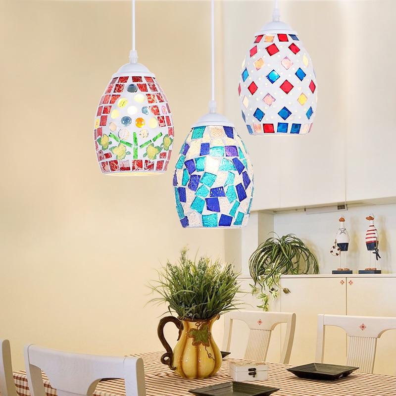 Of Goods: Mediterranean Small Chandelier Restaurant, Coffee Shop, Bar, Bar, Bar, Mosaic Color Bar, Retro Chandelier
