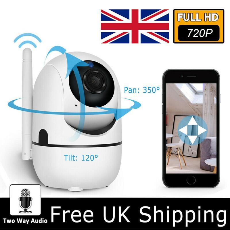 720p câmera de segurança em casa ip sem fio mini câmera de visão noturna cctv câmera wi-fi monitor do bebê cão inteligente visão noturna cam