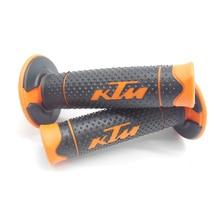 Grip Handle MX Grip for ktm Dirt Pit bike Motocross Motorcycle Handlebar Grips orange color Hand Grips цена 2017
