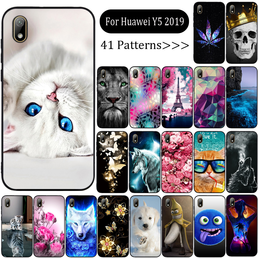 For Huawei <font><b>Honor</b></font> 8S <font><b>Case</b></font> <font><b>Soft</b></font> Silicone TPU Phone <font><b>Case</b></font> For Huawei <font><b>Honor</b></font> 8S <font><b>8</b></font> S KSE-LX9 KSE LX9 Honor8S <font><b>Case</b></font> Cute Back Cover Funda image
