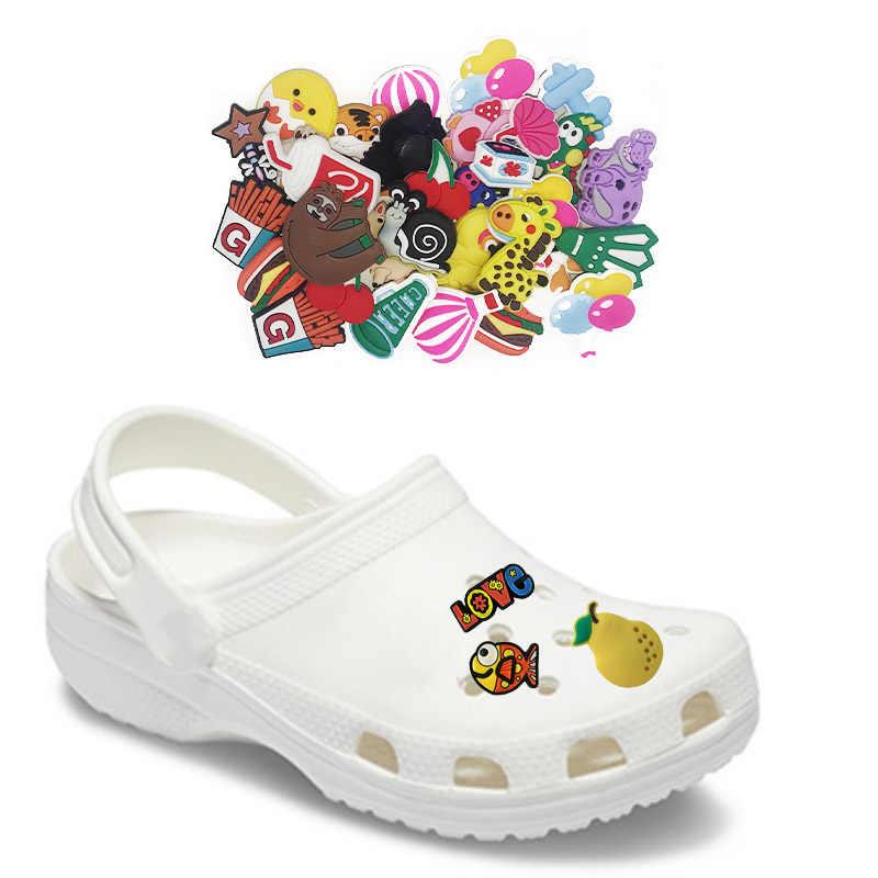 5 pcs I Love Cats Shoe Charms for Crocs Clog Shoes Bracelets Gift
