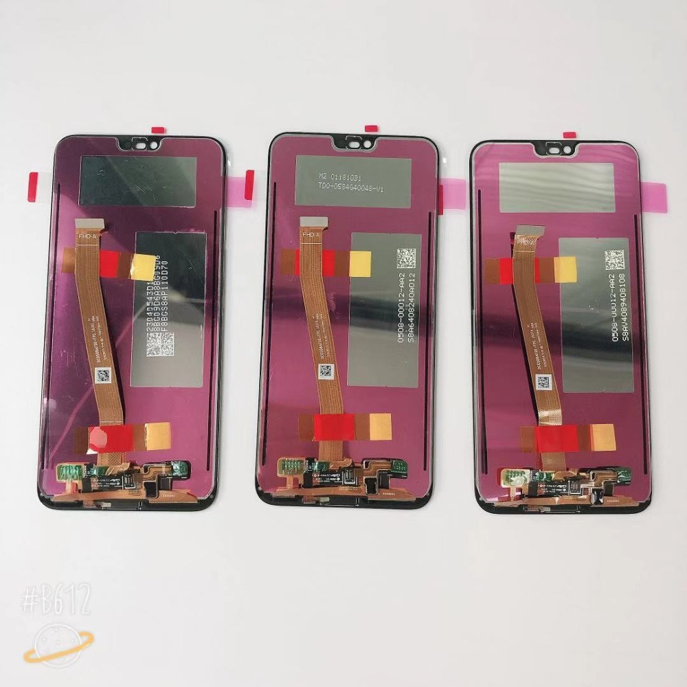 H38dd51397fd94fd49eaaeb7041aac9d8W 100% Original Tested New For 5.84' Huawei Honor 10 COL-L29 LCD Display +Touch Screen Digitizer Assembly Replacement +fingerprint