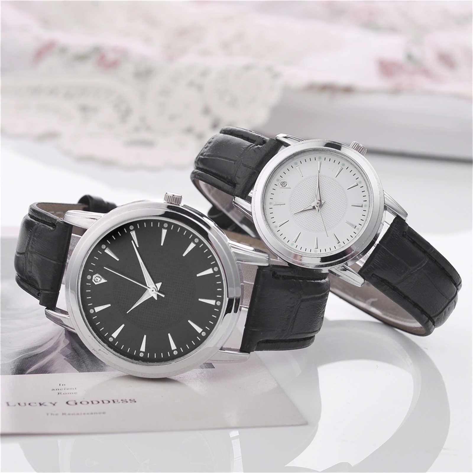 Couple gifts 2PCS Luxury Beautiful Quartz Watch 2021 M&F
