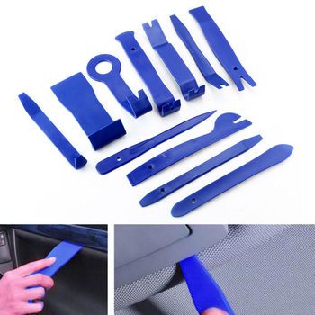 Herramienta de eliminación de recortes de plástico instalación de Panel de salpicadero Kit de palanca accesorio resistente a impactos