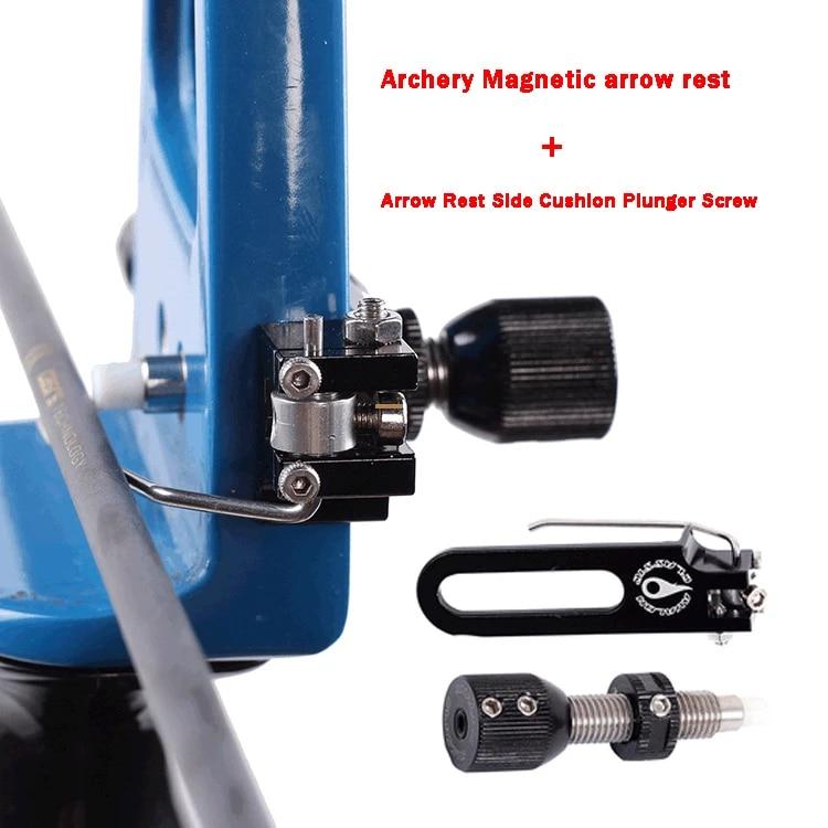 Archery Magnetic Arrow Rest for Recurve Bow