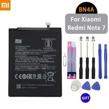 Bateria do telefonu Xiaomi BN4A 4000mAh do Xiaomi Redmi Note 7 o dużej pojemności Li ion oryginalna wymienna bateria darmowe narzędzia