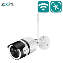Zoohi 1080P HD IP Camera Surveillance Draadloze Camera CCTV WIFI Camera Beveiliging Camera APP Controle Nachtzicht Twee  manier Audio