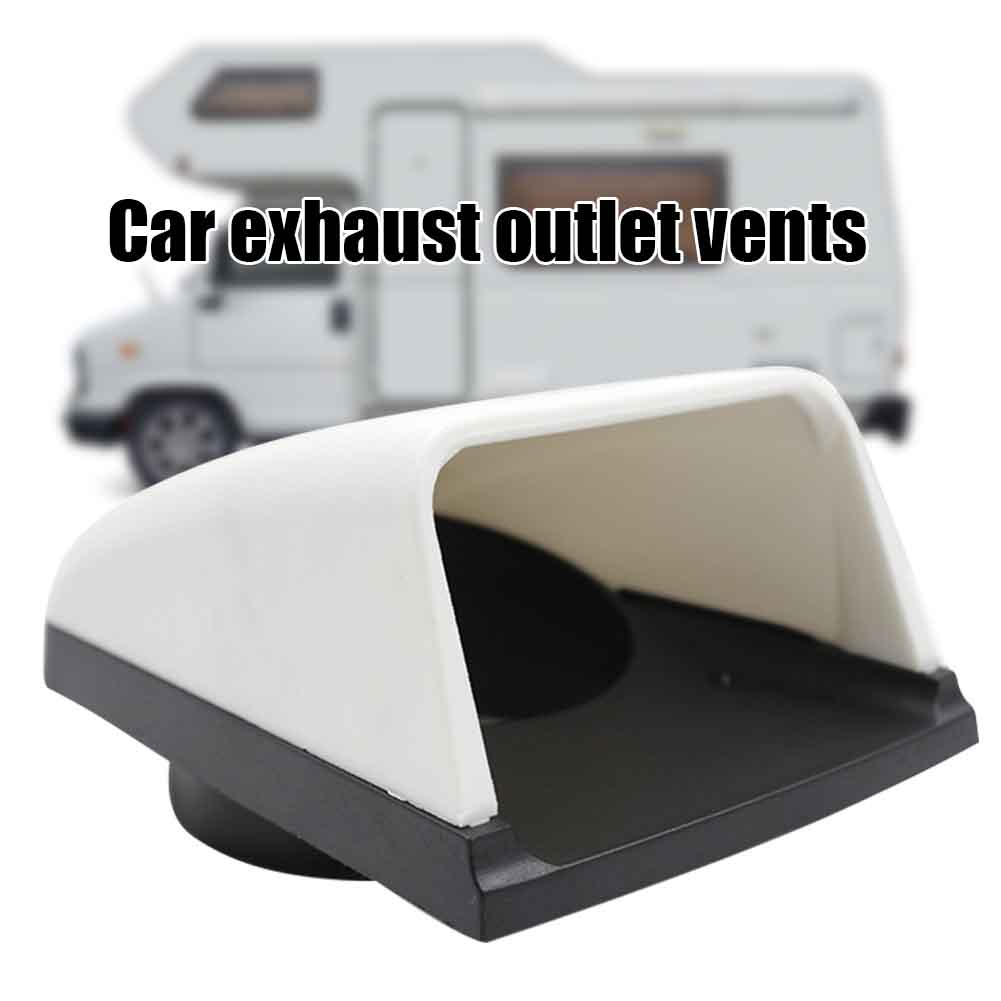 3inch Campers <font><b>Motorhome</b></font> Accessories <font><b>RV</b></font> Roof Waterproof Air Flow Weather Resistant Replacement Parts Vent Cover Easy Install image