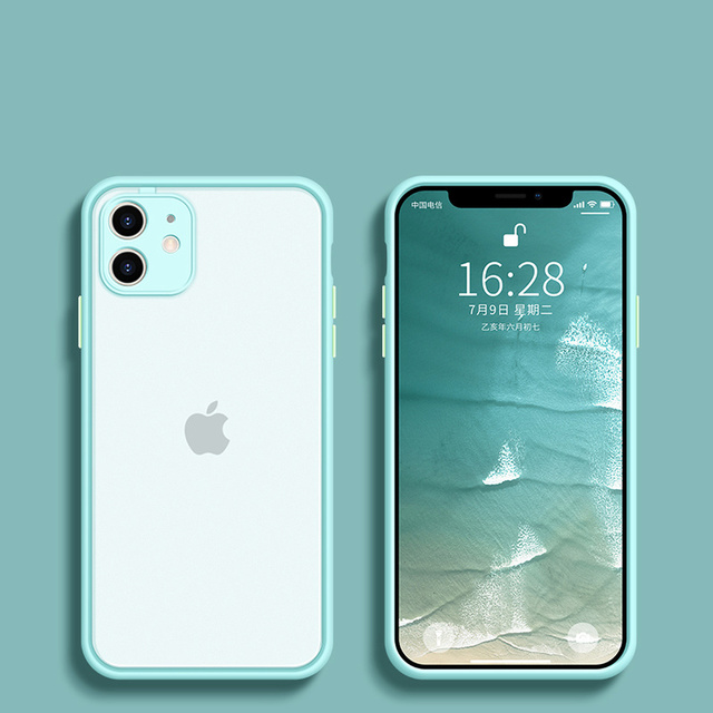 Camera Protector For Apple iPhone 11 case For iphone 12 mini Pro max case 7 8 6 6S Plus XR X XS MAX SE 2020 Case Cover Bumper 4