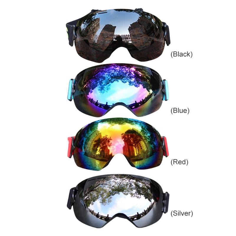 Delicate Double Layers Goggles Breathable Windproof Anti-fog Glasses Sportswear For Outdoor Skiing Climbing Mountaineering