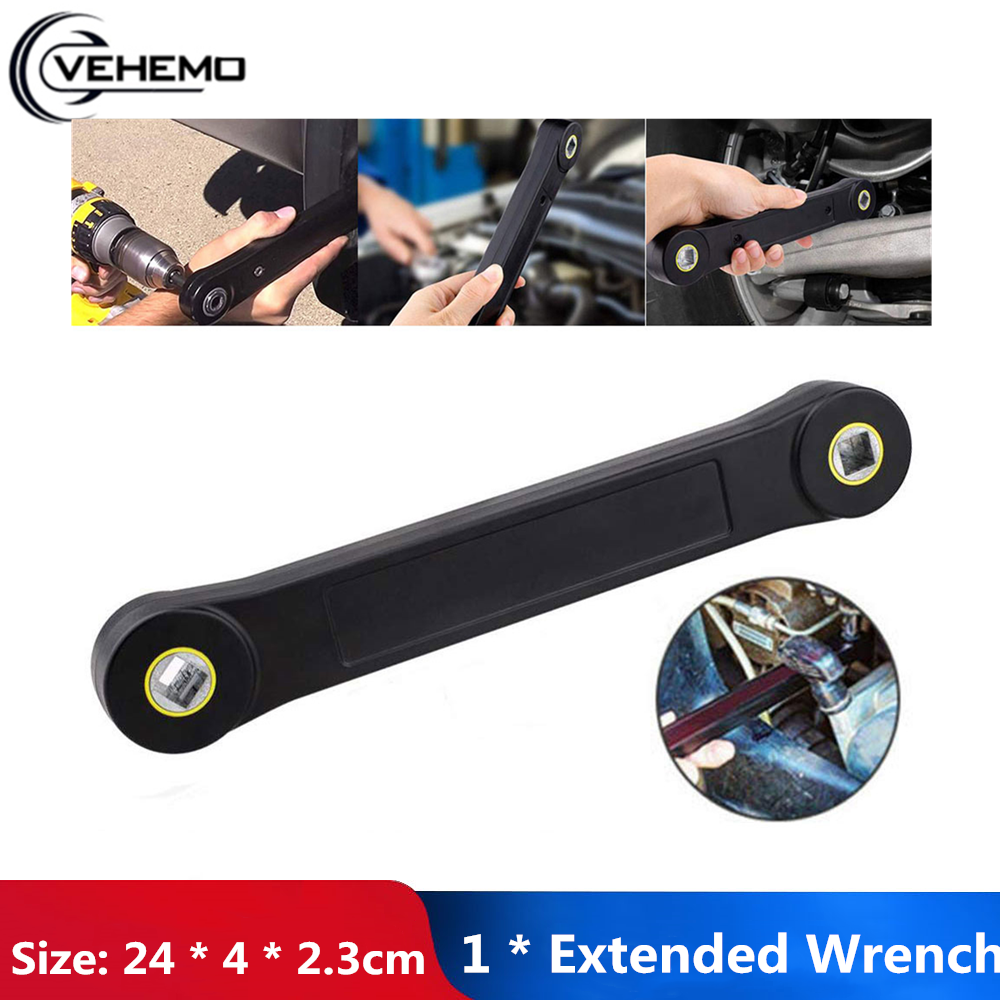 """Universal Extend Wrench Maintenance Household Functional 3/8"""" Tool Automotive Tools Multi-Purpose Wrench Car Accessories"""