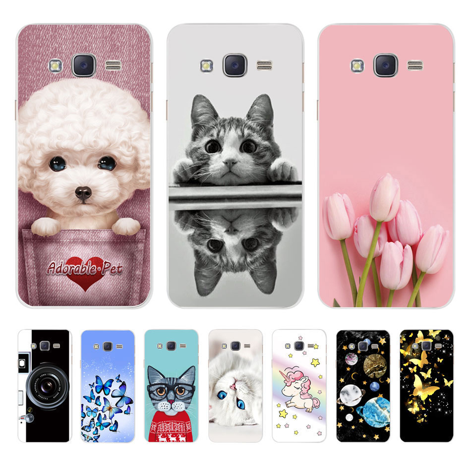 Case For <font><b>Samsung</b></font> Galaxy J5 Case Cover Silicone Soft TPU Back Cover For <font><b>Samsung</b></font> J5 J <font><b>5</b></font> 2015 2016 <font><b>2017</b></font> J500 J510F J530F Phone Case image