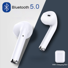 I7s TWS Mini Wireless Bluetooth Headset Stereo Sports Cordless Handsfree Earphones for Iphone Xiaomi Complete Smartphone