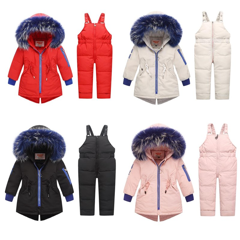 2019 Oorangemom Brand Baby Girl Winter Coat Children 39 s Down Jacket Set Children 39 s 1 3 Year Old Boys amp girls 2 Pcs Of Clothes in Down amp Parkas from Mother amp Kids
