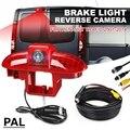 PAL Система Автомобильный тормозной светильник камера высокого положения тормозной светильник светодиодный камера заднего хода для Renault ...