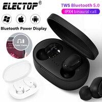 Cuffie Bluetooth Wireless elettop TWS 5.0 auricolare cuffie Stereo Mini auricolari riduzione del rumore per Xiaomi iPhone Huawei