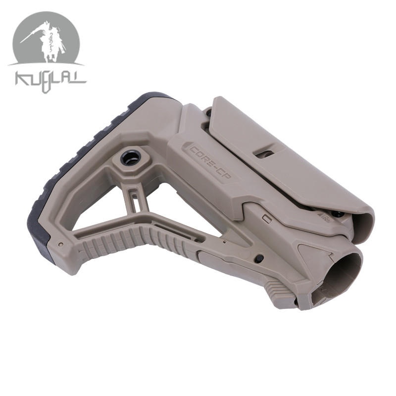 High Quality Nylon GL-CORE STYLE  Stock  Black Tan For Gel Blaster