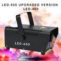 500W RGB LED เครื่องหมอกหมอก Stage Effect fogger Disco DJ ปาร์ตี้คริสต์มาสรีโมทคอนโทรลควันไฟ LED เครื่อง