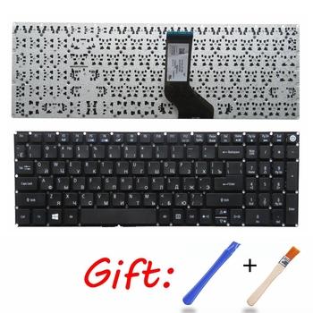 Rosyjska klawiatura dla Acer Aspire E5-523 E5-523G E5-553 E5-553G E5-575 E5-575G E5-575T E5-575TG E5-774 E5-774G RU klawiaturze laptopa tanie i dobre opinie GZEELE Russian Standard E5-523 E5-573