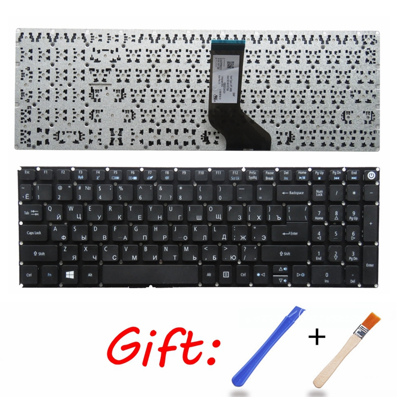 Russian Keyboard For Acer Aspire E5-523 E5-523G E5-553 E5-553G E5-575 E5-575G E5-575T E5-575TG E5-774 E5-774G RU Laptop Keyboard