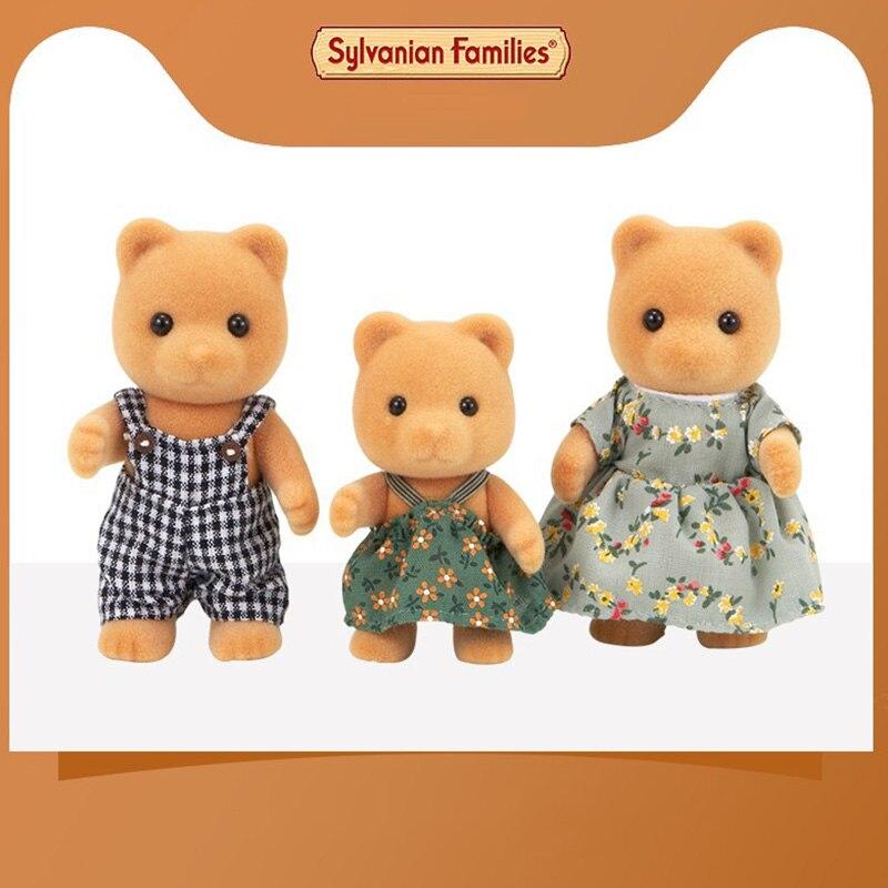 Sylvanian Families Toy Sylvanian Families Bear Family GIRL'S Play House Doll 5125