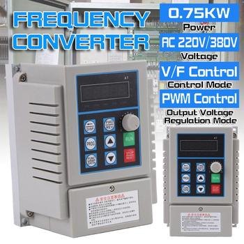 220V AC Variable Frequency Drive Inverter Single To 3-Phase CNC Motor Speed VFD Variable Frequency Drive Converter