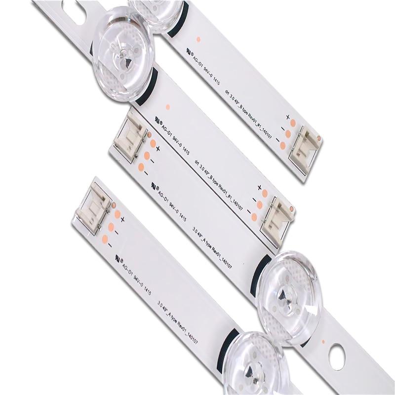 """עכברים - מקלדות רצועת LED אחורית עבור LG 49LB620V Innotek ד.ר.ת 3.0 49"""" 49LB552 49LB629V 6916l-1788A 6916l-1789A 49LF620V 49UF6430 6916L-1944A (5)"""