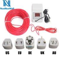 Cable de calefacción para acuario y plantas de invernadero, controlador de temperatura, termostato de Cable de calentamiento de cría, calefacción por suelo