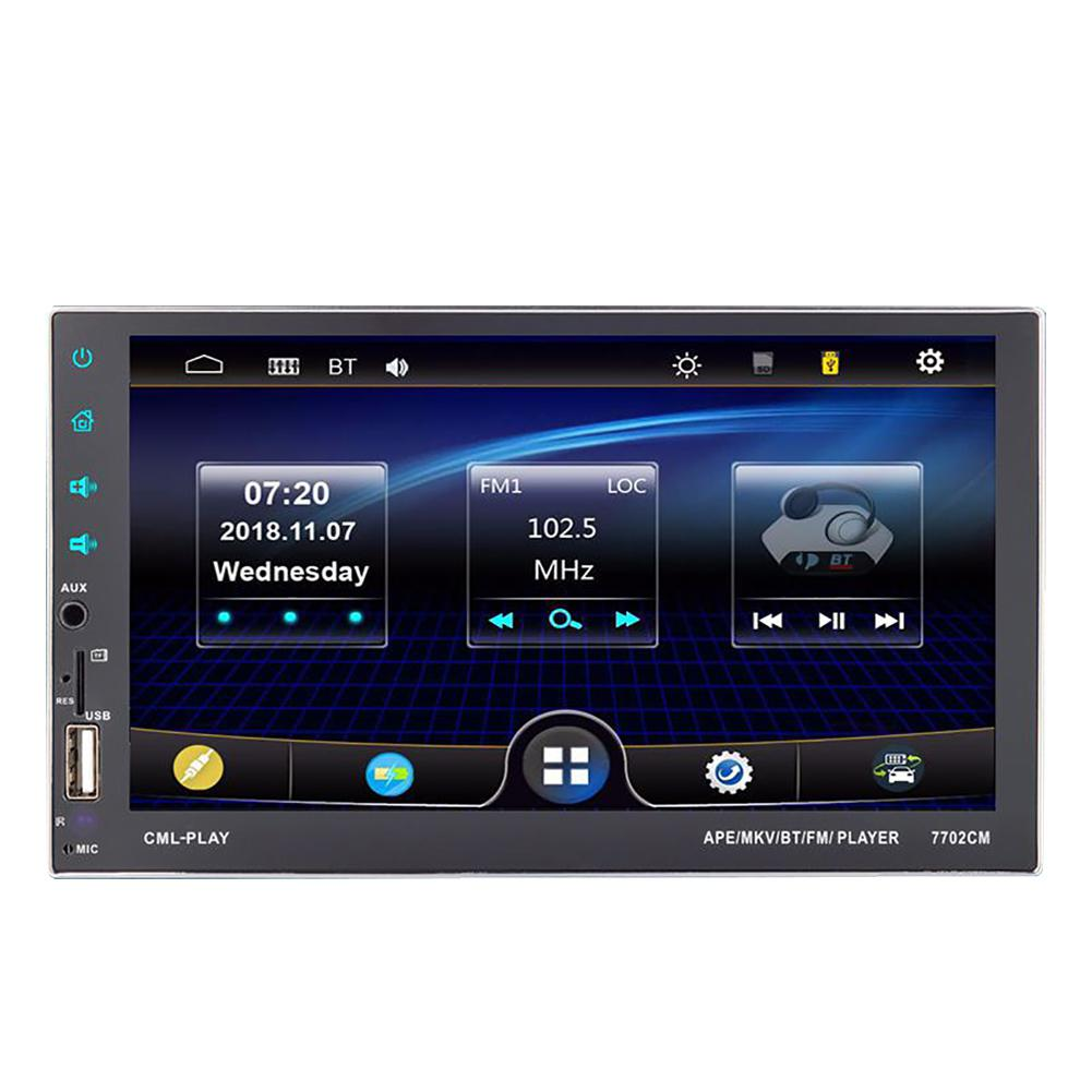 7 Inch Car Multimedia Player Auto-radio Touch Screen Video MP5 Player Auto Radio Backup Camera image