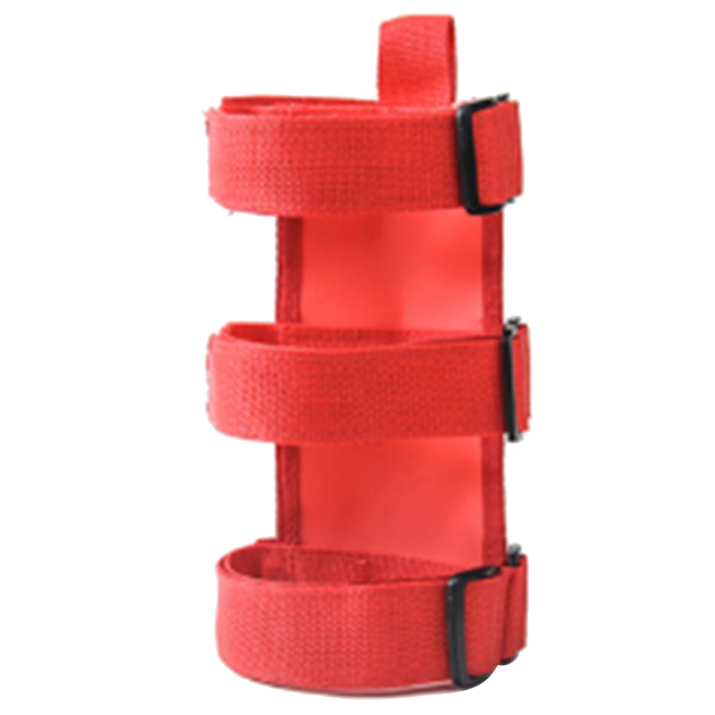 Red Universal Roll Bar Flashlight Holder for Jeep Wrangler JK JL TJ YJ