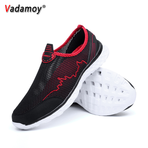 Summer Men Sandals Outdoor Male Slippers Couples Mesh Fashion Beach Quick Dry Wading Upstream Fishing Net Water Casual Men Shoes Lahore