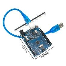 20 satz/los UNO R3 UNO board mit usb kabel UNO MEGA328P CH340G