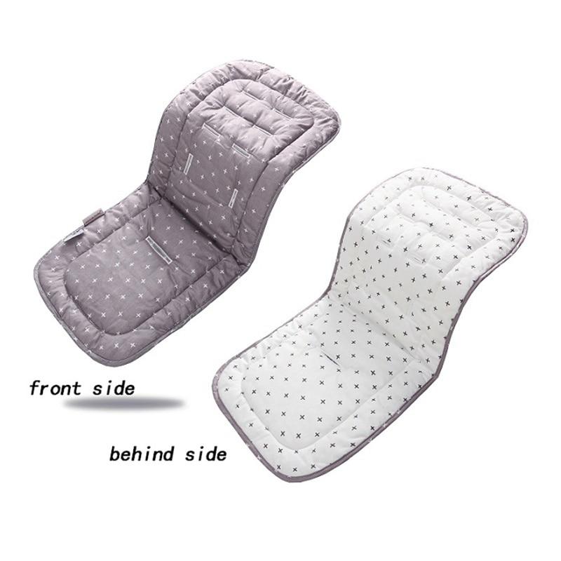 Модные сиденье для детской коляски из хлопка; Мягкая и удобная обувь, детская коляска, коврик для подушки Багги коврик для детских колясок, аксессуары для детских колясок 2